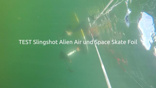 gleiten tv :: Hydrofoil :: Slingshot TEST Alien Air und